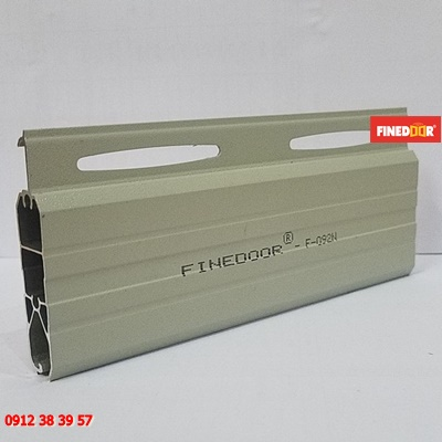 Mẫu lá cửa cuốn Nhôm Finedoor F-092N