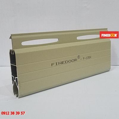 Lá cửa cuốn nhôm khe thoáng Finedoor F-105N