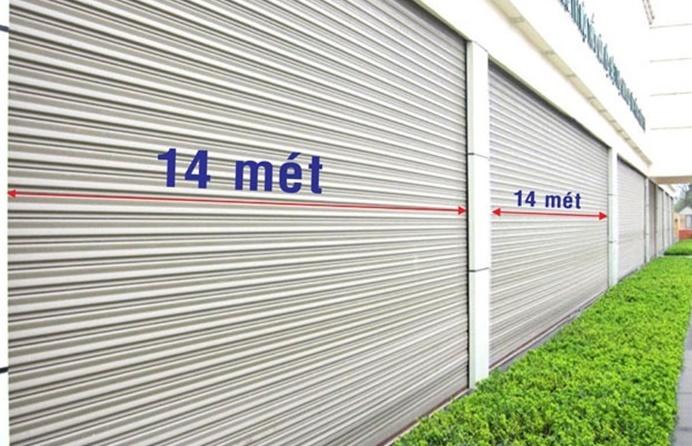cửa cuốn siêu trường, lá bản 100, cua cuon cong nghiep sieu nang, finedoor, van phu thanh