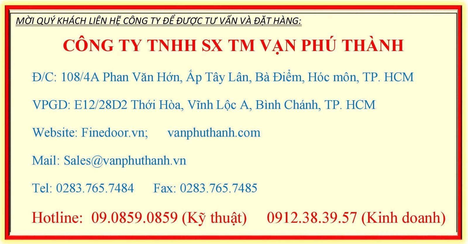 Thong tin Cong ty Van Phu Thanh