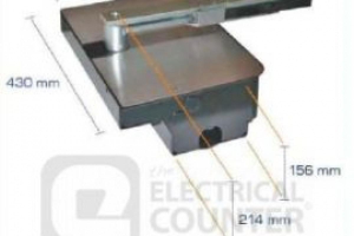 Cổng mở âm sàn Roller 24 VDC Genius