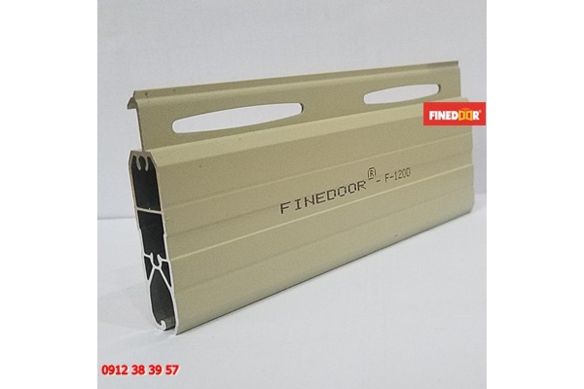 Cửa cuốn Nhôm khe thoáng FINEDOOR F-120D