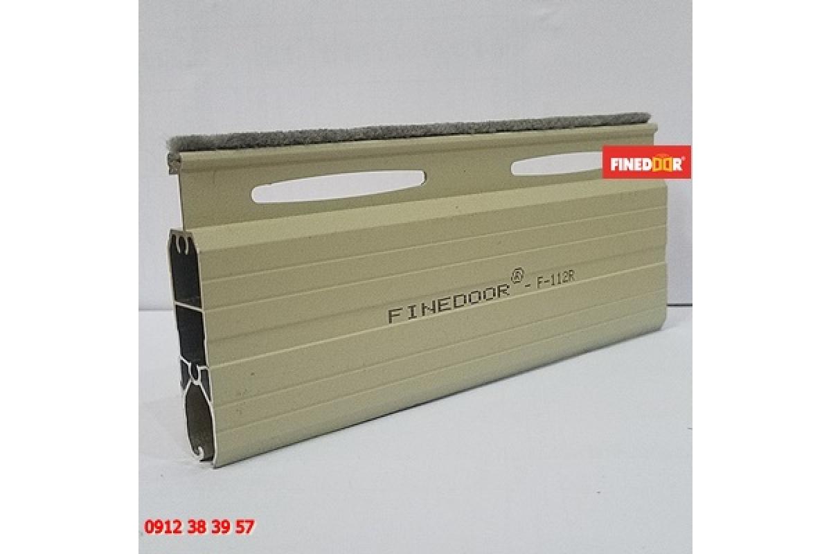 Cửa cuốn Nhôm khe thoáng FINEDOOR F-112R