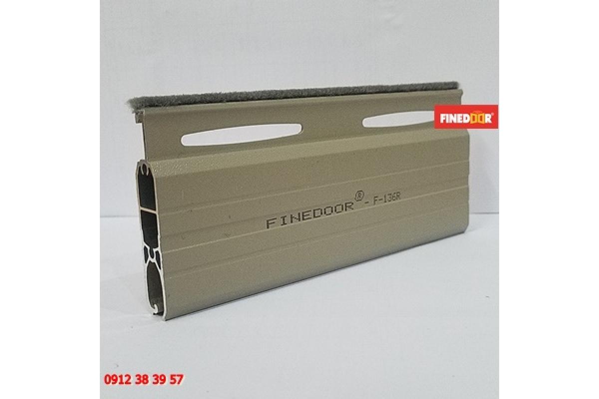 Cửa cuốn Nhôm khe thoáng FINEDOOR F-136R