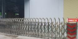 Cổng xếp Inox 304 tự động